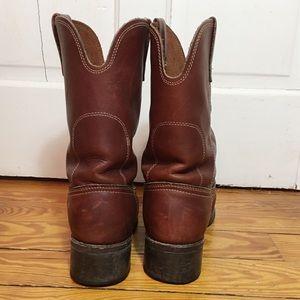 Biltrite Shoes - Biltrite Men's Western Leather Boots Size 9 1/2
